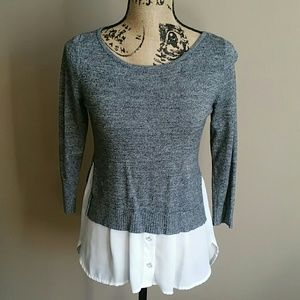 Tops - NY&CO Small Gray Sweater